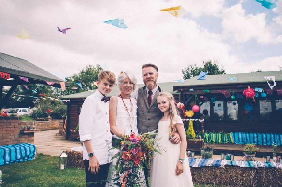 Alternative Wedding Photographer Northampton image