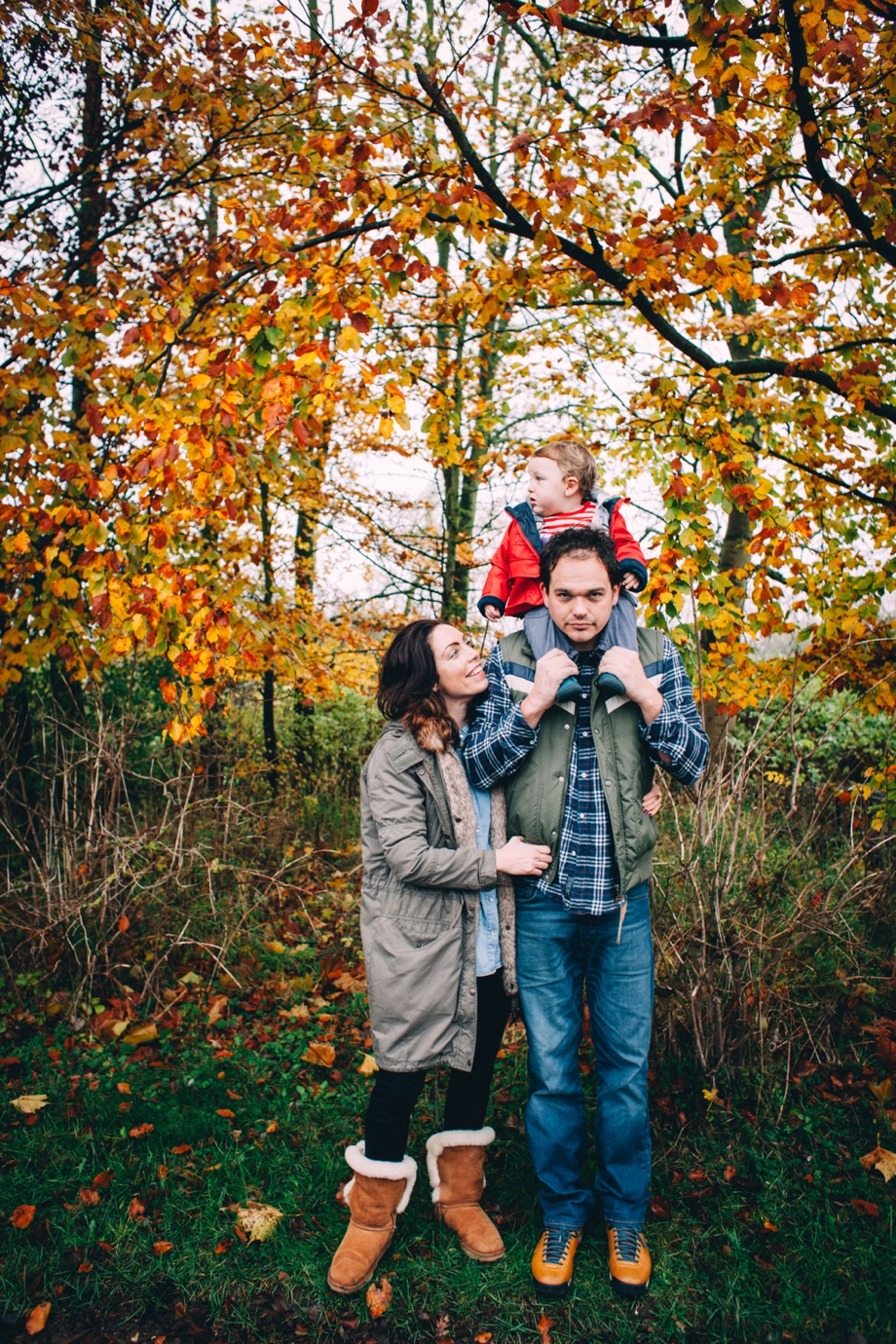 Autumn Outdoor Family Shoot image