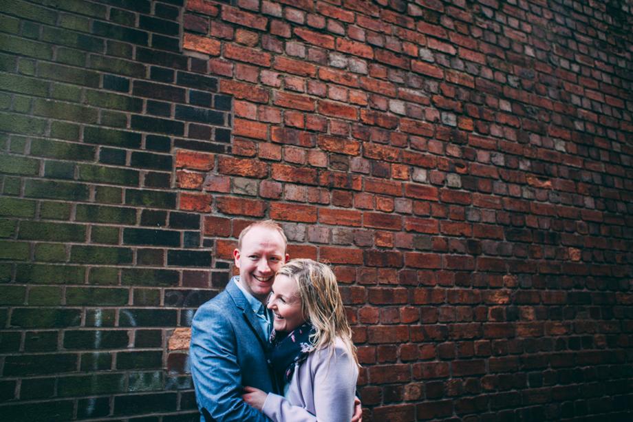 Natural & Fun Couple Shoot image