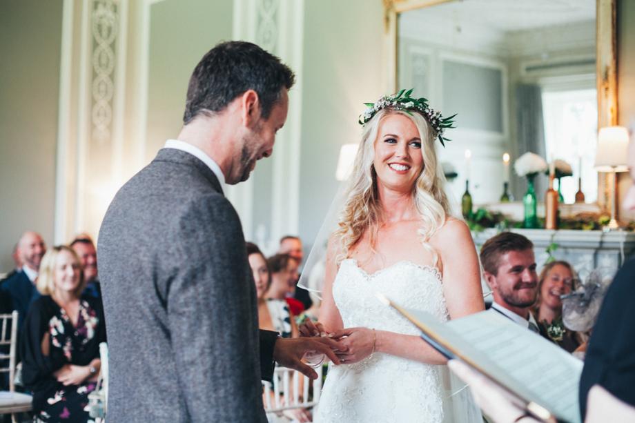 Saltmarshe-Hall-Wedding-Woodland-Blessing-16