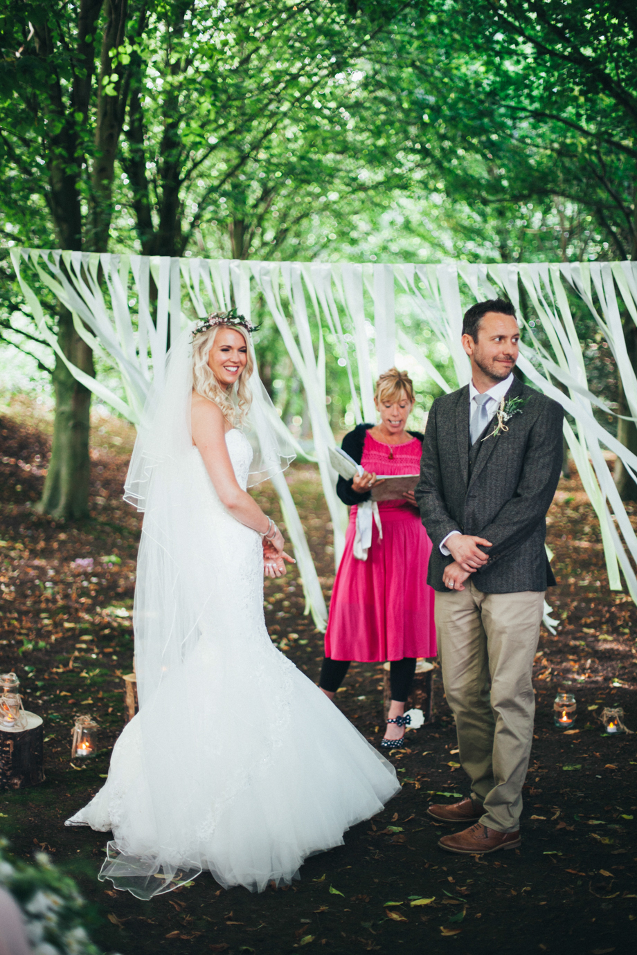 Saltmarshe-Hall-Wedding-Woodland-Blessing-17