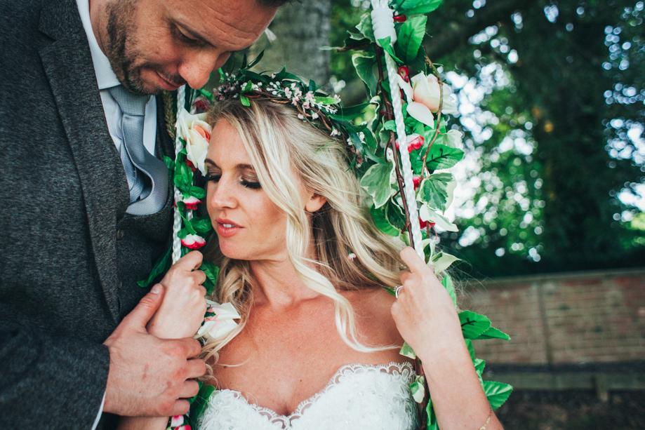 Saltmarshe-Hall-Wedding-Woodland-Blessing-43