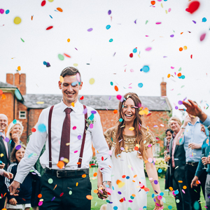 Alternative Back Garden Farm Wedding