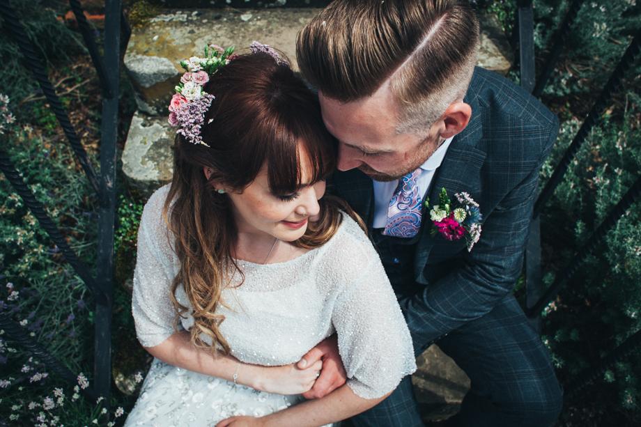 Alternative Wedding Photographer Somerset image