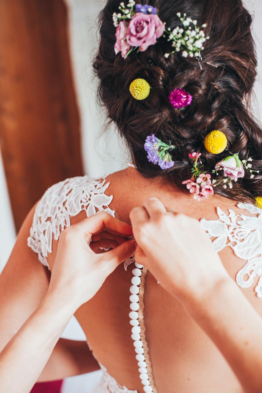 Devon Garden Wedding Photography image
